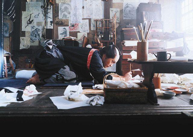 「HOKUSAI」から (C)2020 HOKUSAI MOVIE