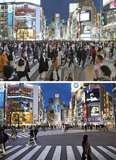 新型コロナ>外出自粛 首都一変:東京新聞 TOKYO Web