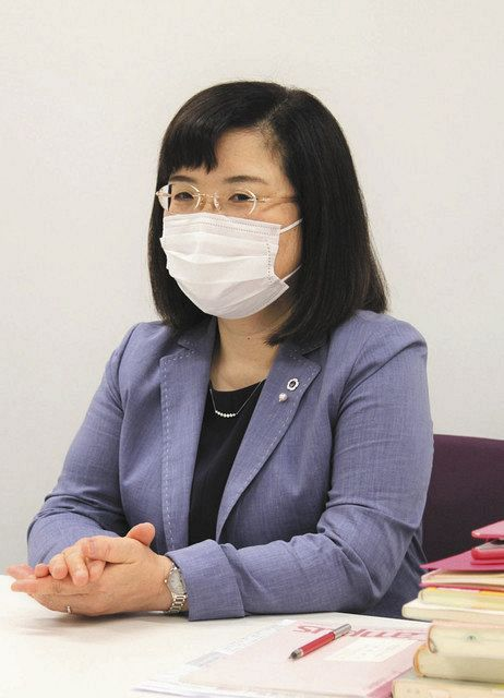 保健師の仕事について語る澤登智子さん=さいたま市西区で
