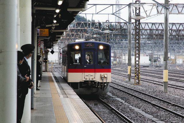 サイクルトレインの実証実験をした鹿島臨海鉄道大洗鹿島線=水戸駅で