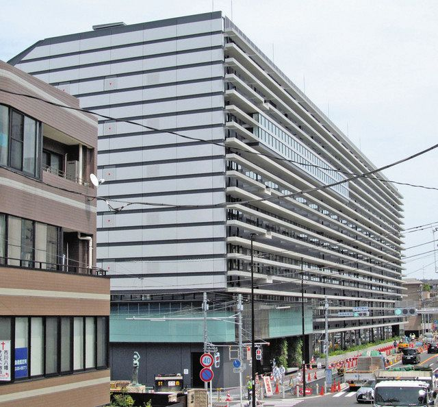 市川市 新第1庁舎が完成 全面開庁は来年1月:東京新聞 TOKYO Web