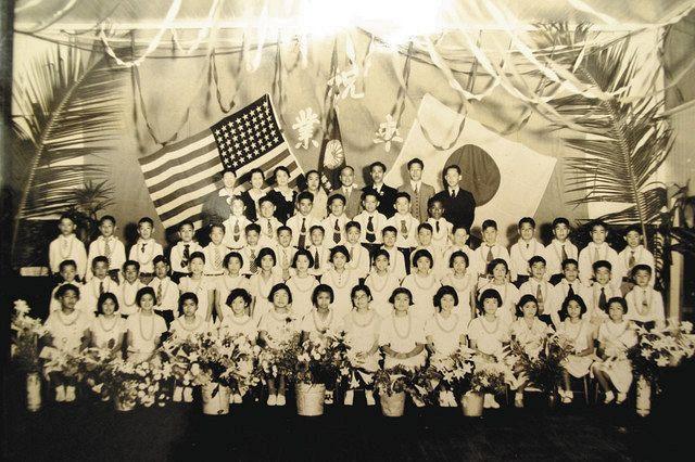 米ハワイ州・ハワイ島ヒロにあり二世たちが通った日本語学校(松元裕之監督提供)