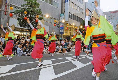踊り 2019 阿波 南越谷