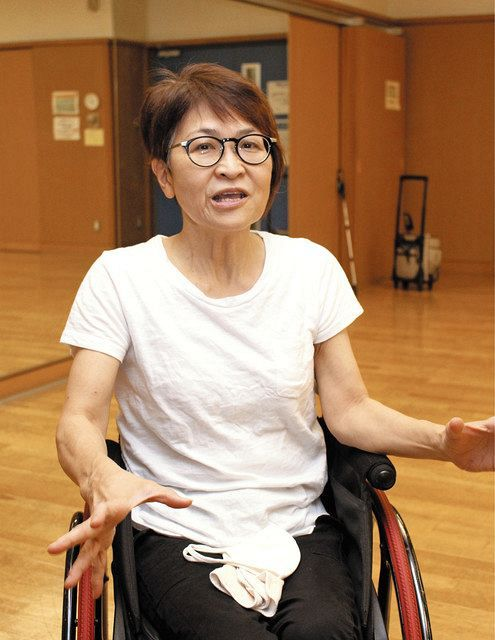 「自助」に理解を示しながらも「経済的な公助は必要」と話す泉葉子さん