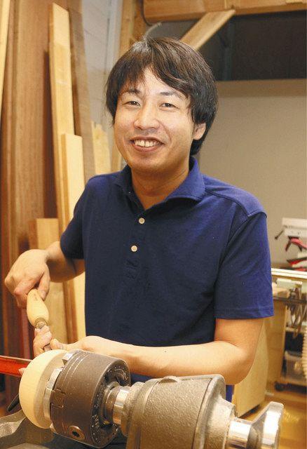 「ものづくりの楽しさを次世代に伝えたい」と話す小松さん=いずれも川口市で