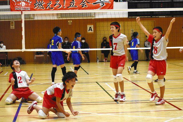 立会アタッカーズ 初V! 東京新聞杯小学生バレーボール大会・男子の部 ...