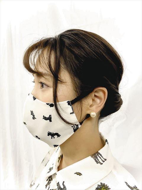 マスク 布
