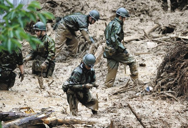 自衛隊の災害派遣が増加 豪雨・台風・コロナ対応… 訓練など「本業」を ...