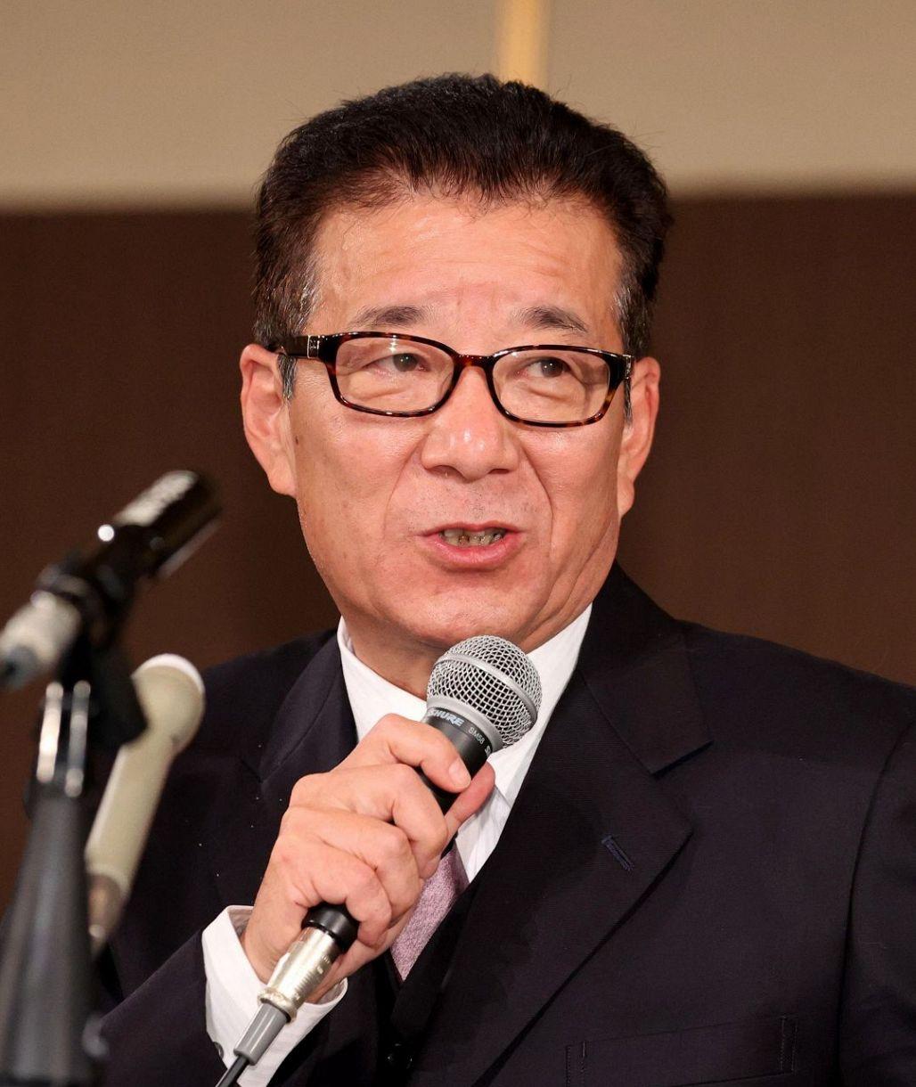 日本維新の会代表で大阪市の松井一郎市長