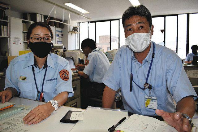 検証 新型コロナ>(6)緊迫度増す小田原市消防本部 救急搬送に内勤 ...