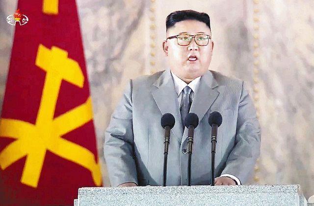 金正恩氏、異例の未明パレードで国民に感謝強調 朝鮮労働党創建75 ...