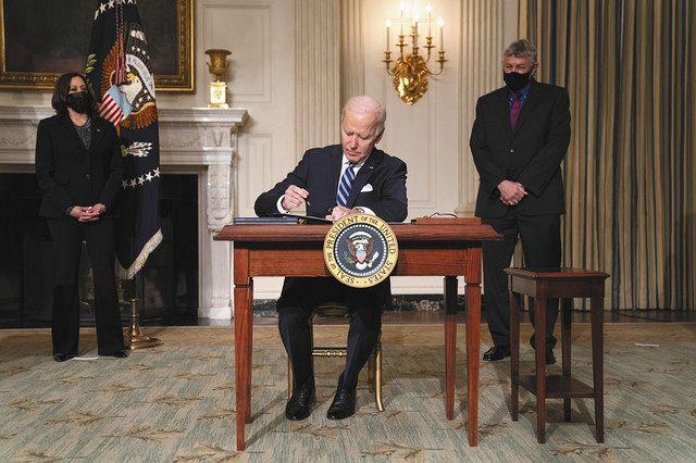 は バイデン した 復帰 の 宣言 大統領 を