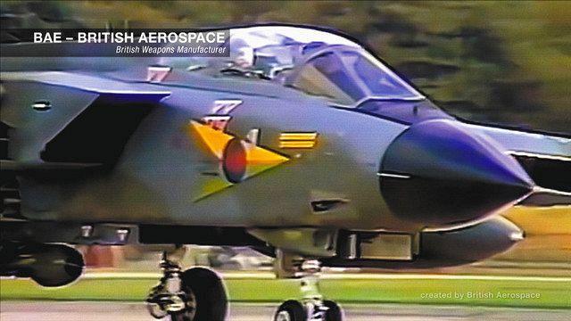 BAEシステムズが開発した戦闘機©Shadow World Productions, LLC
