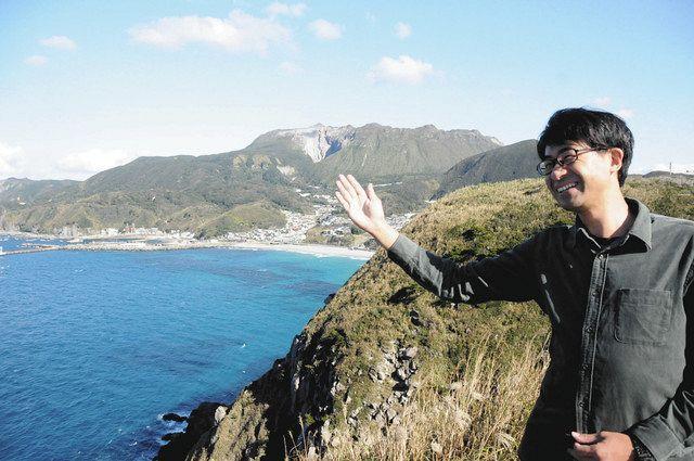 島南部のありま展望台は、星空ガイド古谷亘さんもおすすめのスポットだ