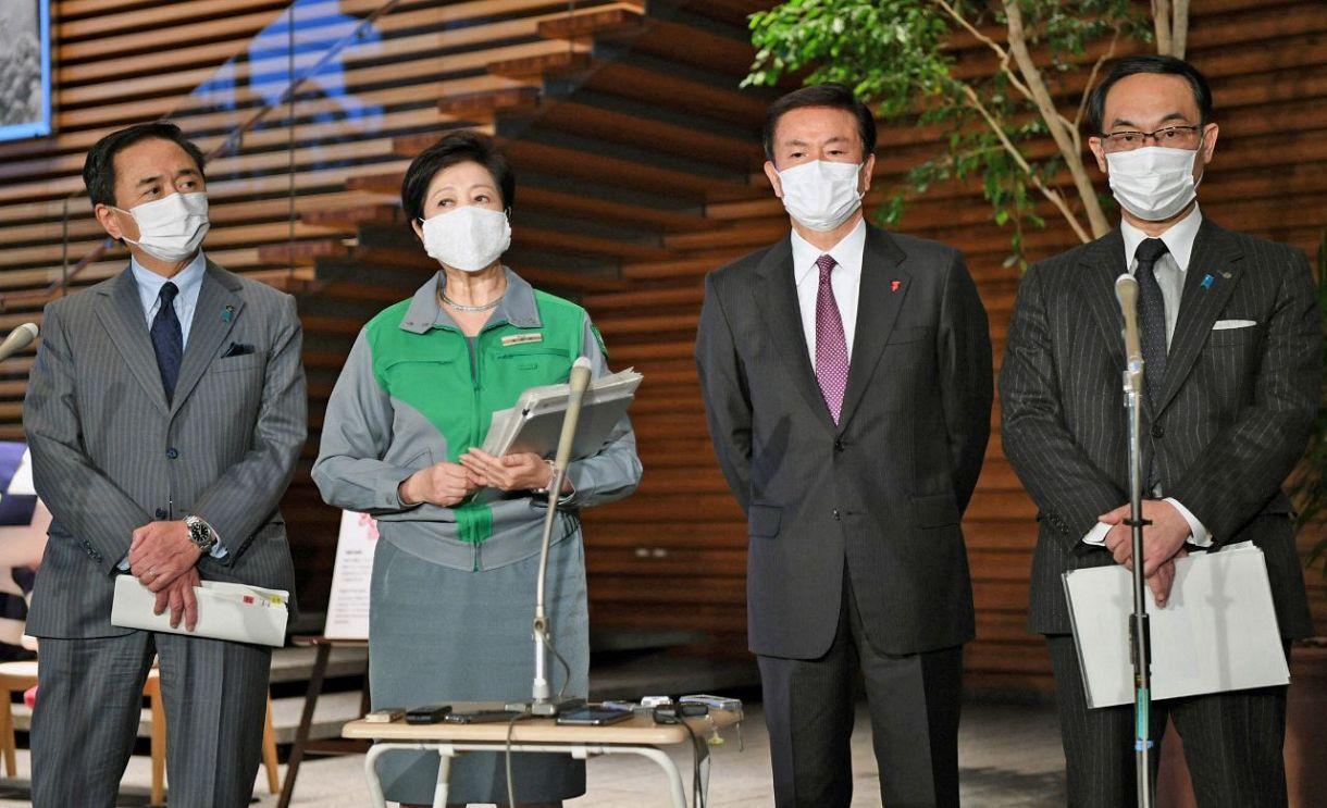 緊急事態宣言解除で首都圏知事の意見割れる 神奈川は解除前向き、埼玉 ...