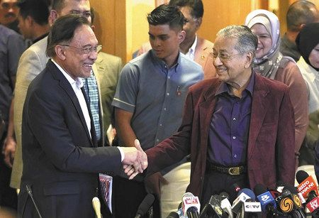 マハティール首相辞任 マレーシア混乱深まる:東京新聞 TOKYO Web