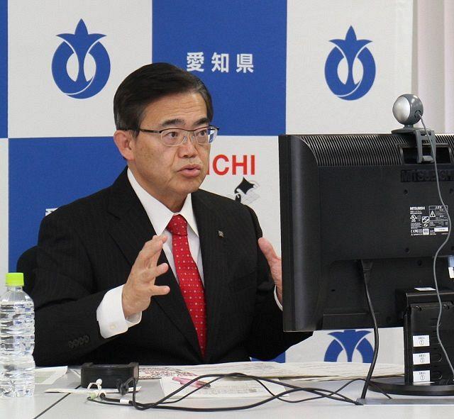 愛知、岐阜が緊急事態宣言を要請へ、12日にも 大村知事「医療現場は ...