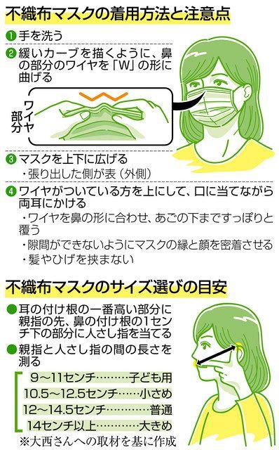 マスク サイズ 安倍
