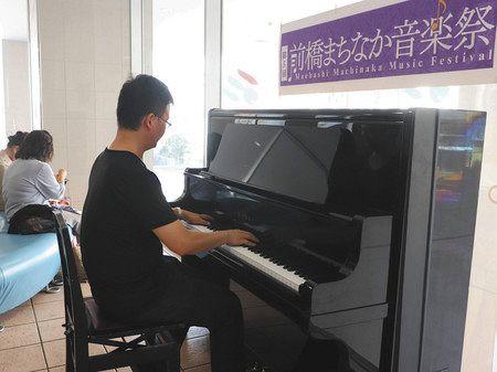 ストリート ピアノ 東京