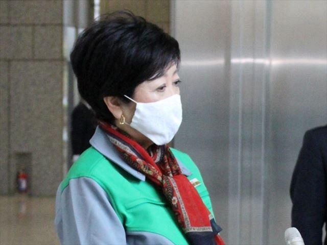 Tokyo Governor Yuriko Koike responds to media coverage = 2nd afternoon at Tokyo Metropolitan Government