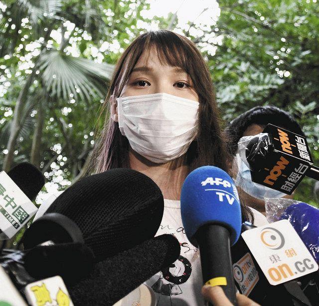 周庭氏ら再び出頭、香港警察、数時間後に釈放:東京新聞 TOKYO Web