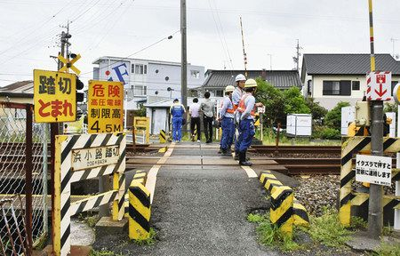 踏切ではねられ2歳男児が死亡 静岡・島田:東京新聞 TOKYO Web