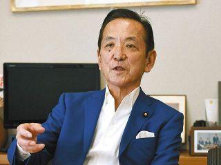 野党として日本を「外科手術」する! 新党参加の中村喜四郎衆院議員
