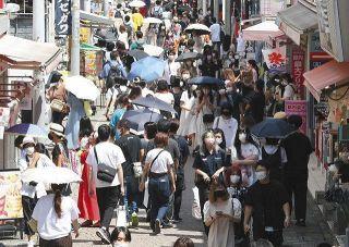 東京の感染4000人台突入も…「コロナ収束待ってたら、学生生活終わっちゃう」原宿は人波が途切れず