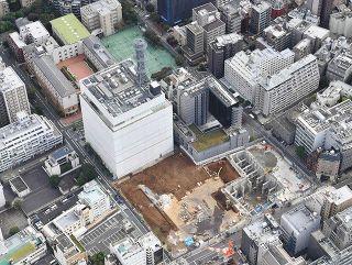 日テレ跡地に超高層ビル計画 名門女子校が異議 「ここは赤坂じゃない」