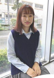 <都知事選 わたしたちの一票>女性の生きづらさ変えて 杉並の高校3年・丸岡愛子さん(18)