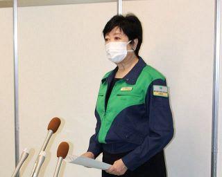 このまま五輪続けるのか…小池知事「はい、そうです」と即答 東京の感染者4000人台突入で