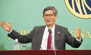 【詳報】尾身会長が会見 五輪「開催中止」盛り込まず 菅首相が開催表明で「意味なさず」