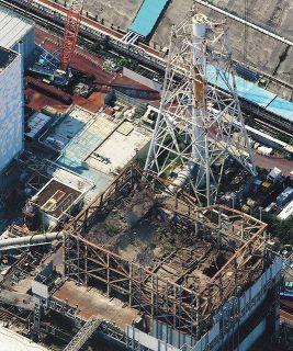 「世界最悪」レベルの事故から9年半に 空から見た福島第一原発の今