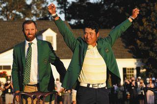 ゴルフの松山英樹がアジア勢初のマスターズ優勝 日本人男子初のメジャー大会制覇