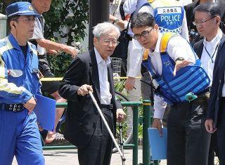 池袋暴走事故 飯塚被告「アクセルペダルが床に張り付いて見えた」【被告人質問・詳報】