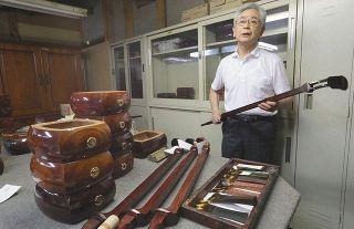 日本文化の危機、三味線の最大手「東京和楽器」が廃業へ 需要激減にコロナが追い打ち