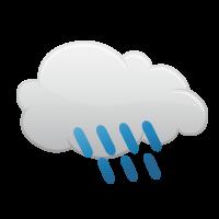 曇り時々雨