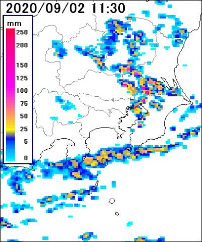 神奈川区 雨雲レーダー
