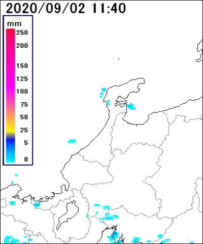 石川 県 雨雲 レーダー